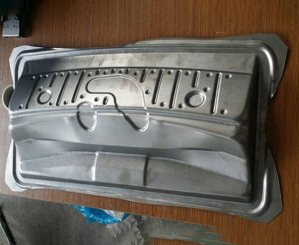 Sheet metal hand board